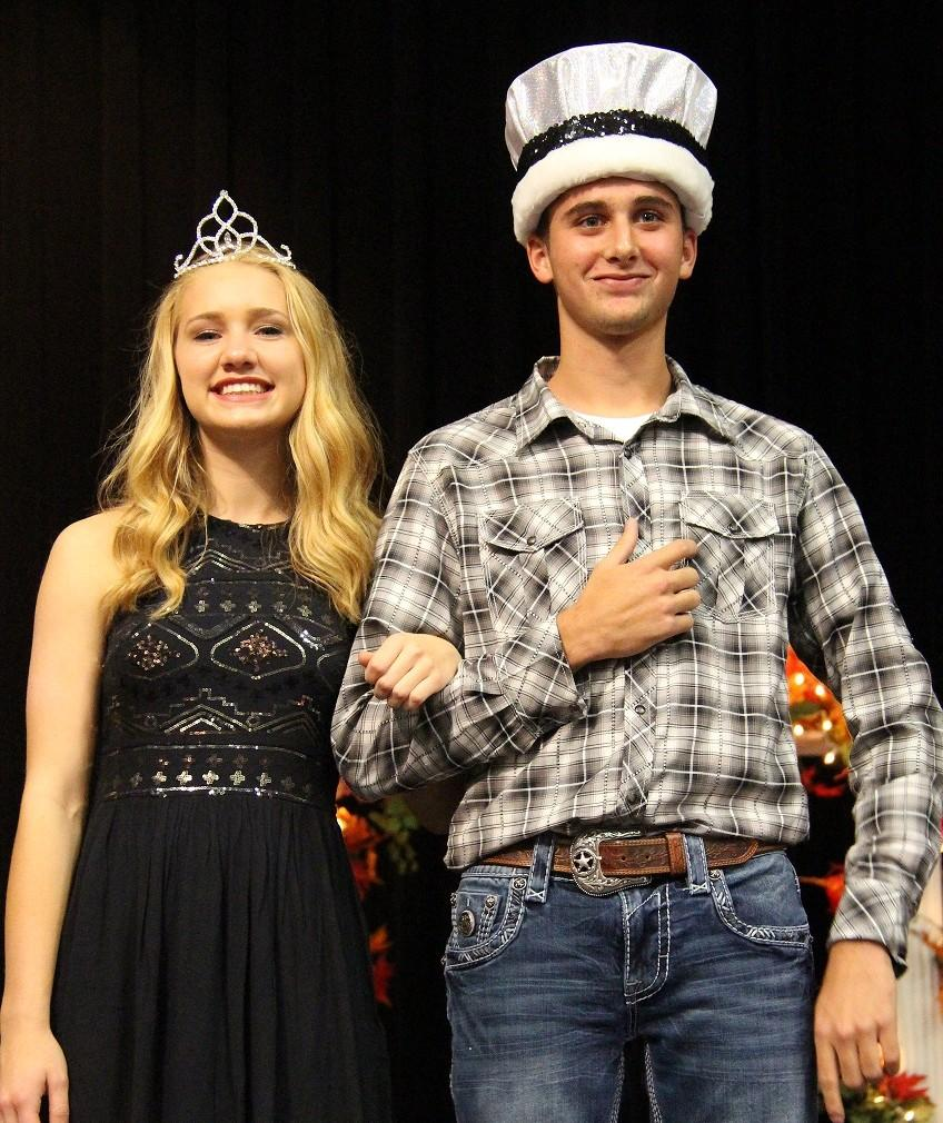 Queen's Court Queen and King - Cara Coligan and Blake Cranford