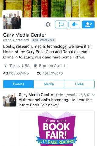 Media Center Twitter Page