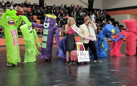 Halloween Costume Contest winners go all out