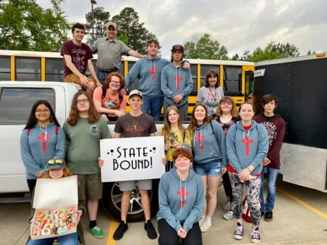 Production class heads to state competition with Jerusalem.